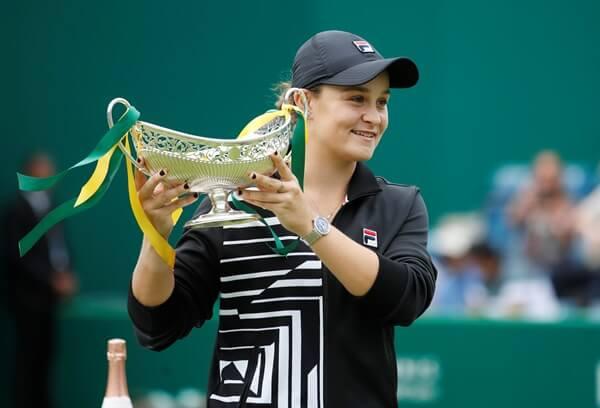บาร์ตี กลายเป็นนักเทนนิสหญิงเจ้าถิ่นรอบ 36 ปี ที่สามารถทะลุรอบตัดเชือกในศึก แกรนด์ สแลม รายการออสเตรเลียน โอเพน 2020