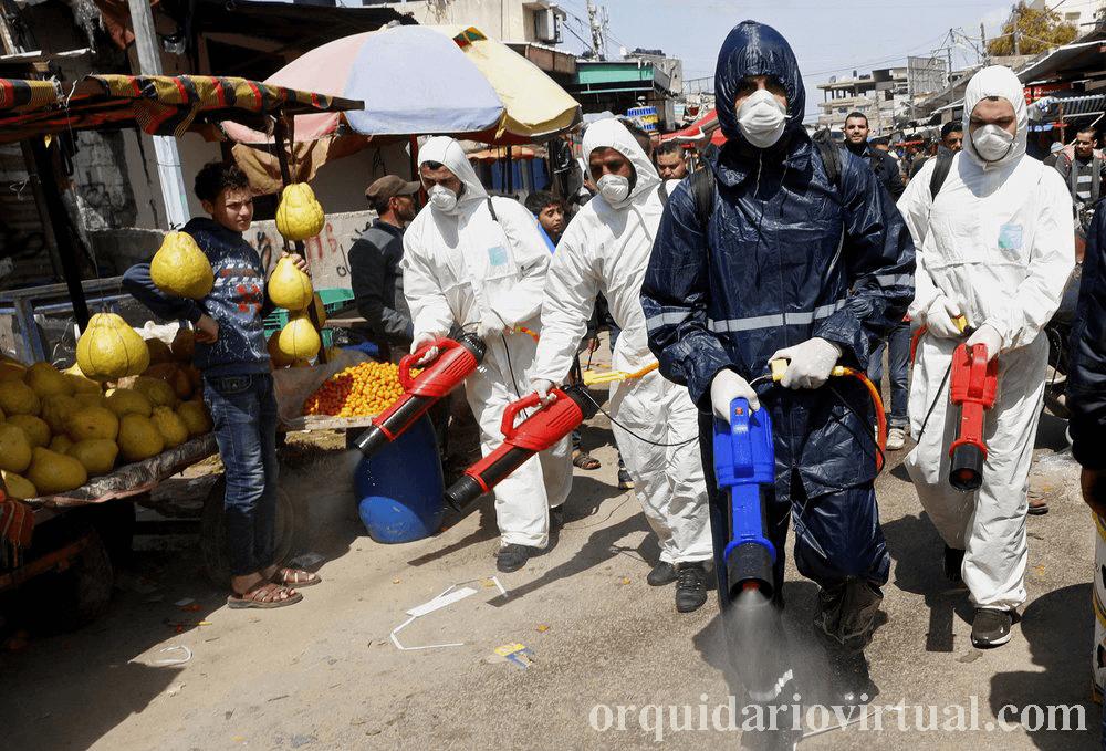 ฉนวนกาซา ต้องปิดตัวลงอีกครั้งหลังจากมีการแพร่ระบาดของไวรัสโคโรน่าในเมืองเล็กๆมีการปิดกั้นอย่างเต็มที่ใน